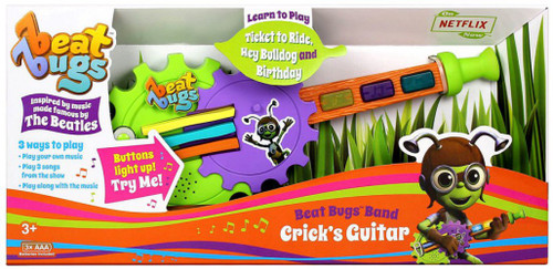 Beat Bugs Band Crick's Guitar Roleplay Toy