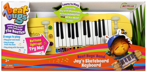Beat Bugs Band Jay's Skateboard Keyboard Roleplay Toy