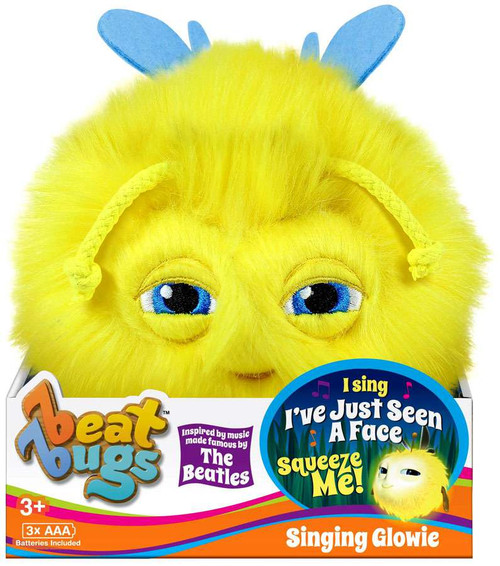 Beat Bugs Yellow Singing Glowie Plush with Sound