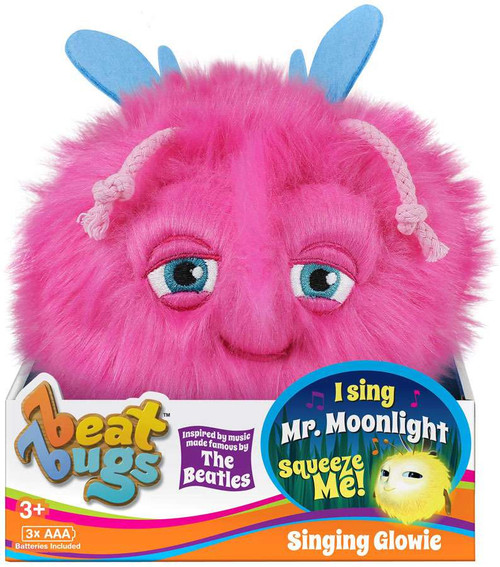 Beat Bugs Pink Singing Glowie Plush with Sound