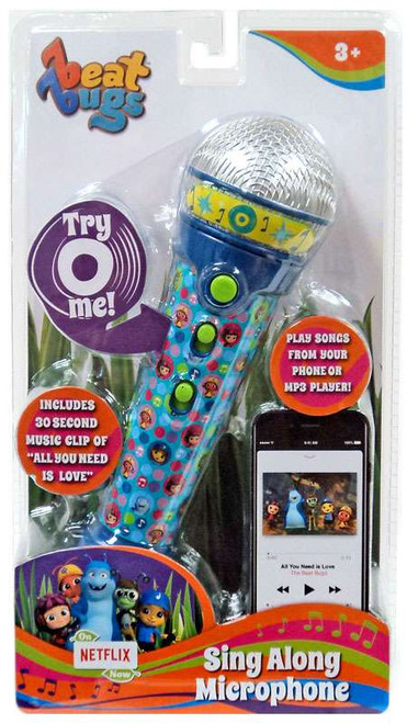 Beat Bugs Sing Along Microphone Roleplay Toy