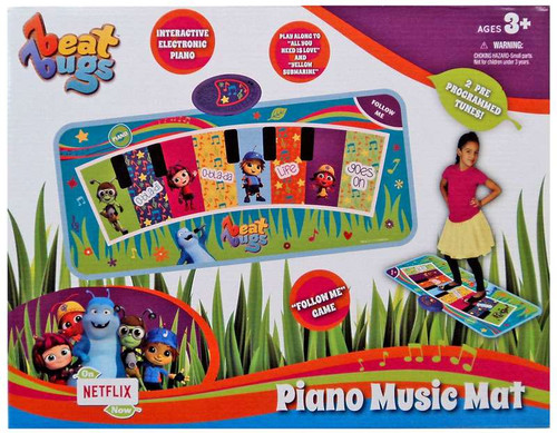 Beat Bugs Piano Music Mat