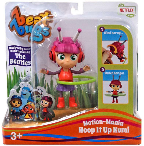 Beat Bugs Motion-Mania Hoop It Up Kumi Action Figure