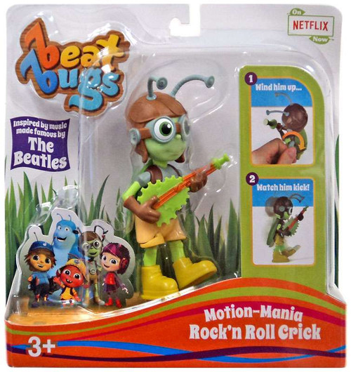 Beat Bugs Motion-Mania Rock'n Roll Crick Action Figure