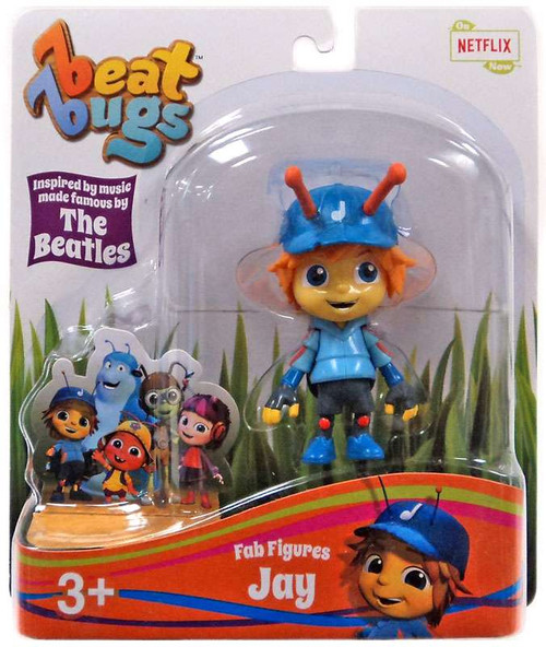 Beat Bugs Fab Figures Jay Action Figure