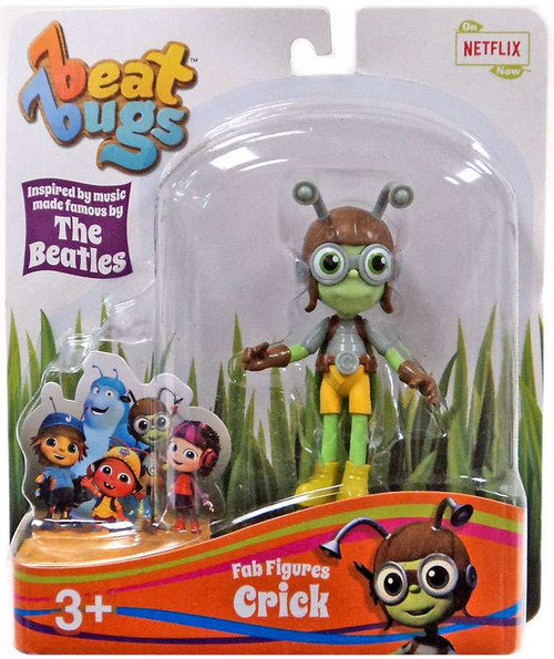Beat Bugs Fab Figures Crick Action Figure