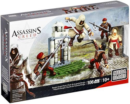 Mega Bloks Assassin's Creed Borgia Guard Pack Set CNK23