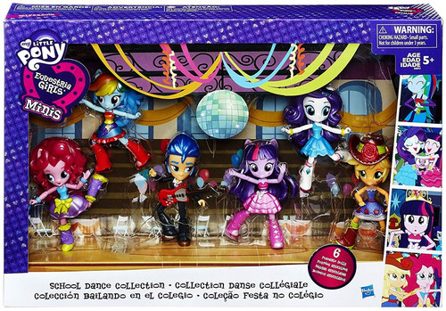 My Little Pony Equestria Girls Minis School Dance Collection Figure 6-Pack
