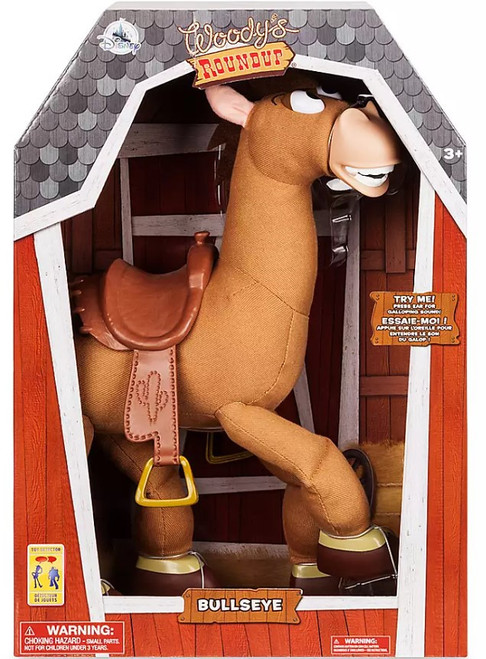 Disney Toy Story Bullseye 16-Inch Talking Plush with Sound