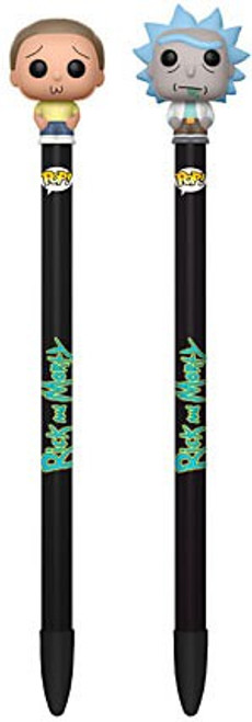 Funko Rick & Morty Set of 2 Pen Toppers