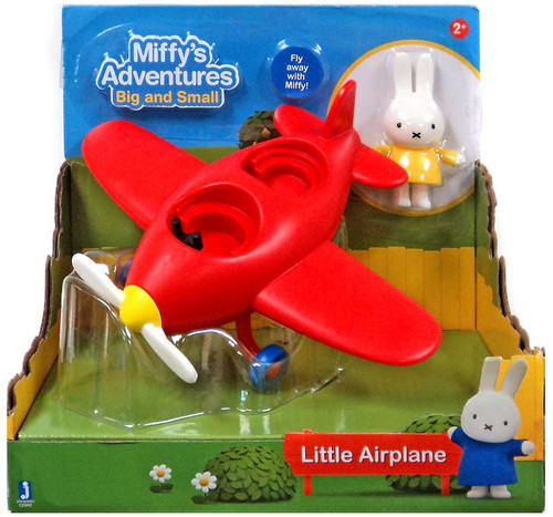 Miffy's Adventures Big & Small Little Airplane Exclusive Vehicle & Figure