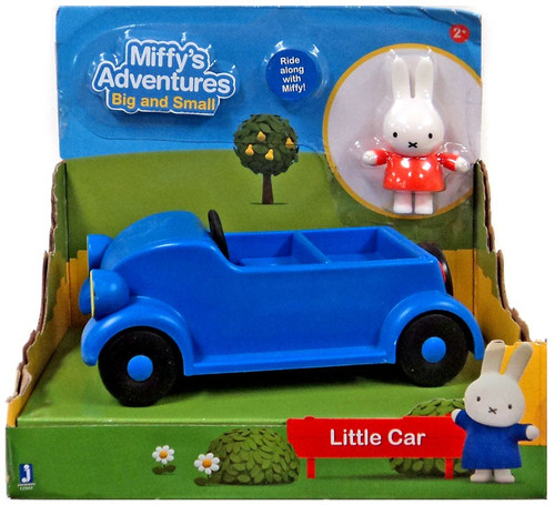 Miffy's Adventures Big & Small Little Car Exclusive Vehicle & Figure