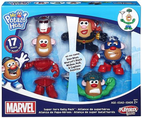 Marvel Playskool Friends Super Hero Rally Pack Mr. Potato Head