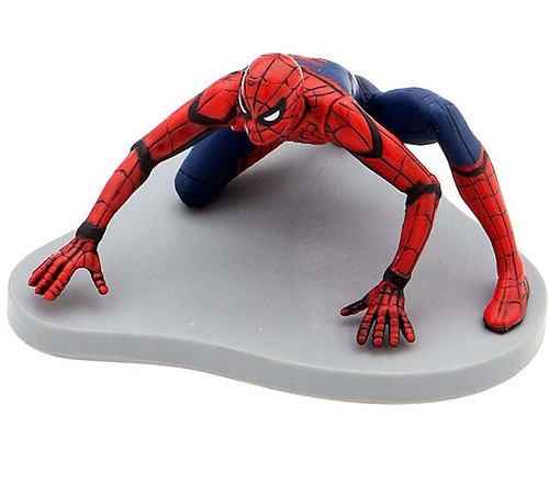 Disney Marvel Spider-Man: Homecoming Spider-Man 3.5-Inch PVC Figure [Crawling Loose]