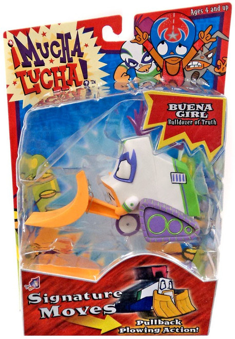Mucha Lucha Signature Moves Buena Girl Bulldozer of Truth Action Figure