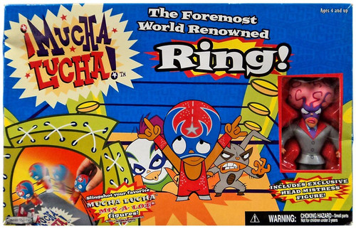 Mucha Lucha The Foremost World Renowned Ring Playset [Head Mistress Figure]