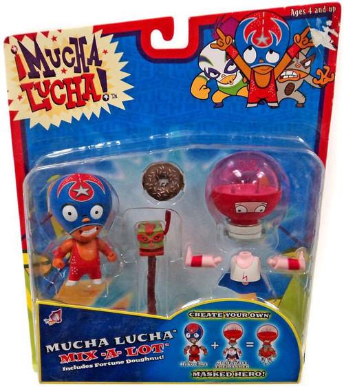 Mucha Lucha Mix-a-Lot Rikochet & Megawatt the Masher Action Figure 2-Pack