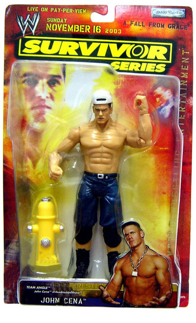 WWE Wrestling Survivor Series John Cena Action Figure