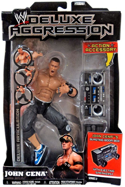 WWE Wrestling Deluxe Aggression Series 3 John Cena Deluxe Action Figure