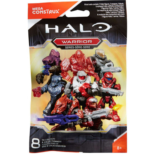 Halo Warrior Minifigure Mystery Pack [1 RANDOM Figure!]