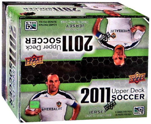MLS 2011 Soccer Trading Card RETAIL Box [36 Packs, 1 Jersey Card!]