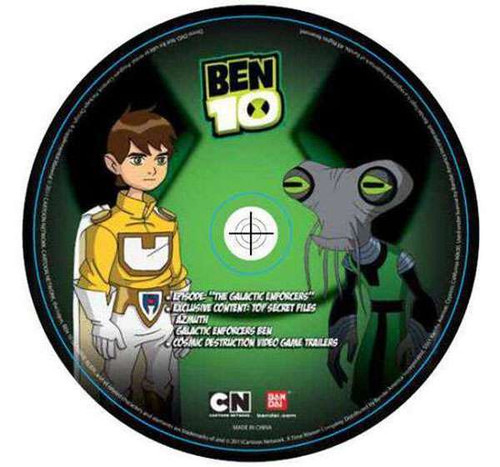 Ben 10 DVD Series The Glacatic Enforcers DVD [Loose]