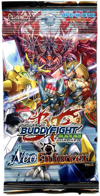 Future Card BuddyFight Trading Card Game Neo Enforcer ver.E Booster Pack BFE-H-BT01 [5 Cards]
