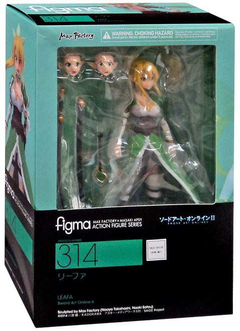 Sword Art Online II Figma Leafa Action Figure [ALO Version]