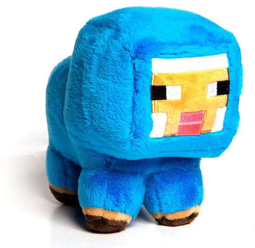 Minecraft Small Baby Blue Sheep 7-Inch Plush