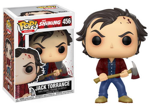 Funko The Shining POP! Movies Jack Torrance Vinyl Figure #456 [Full Color, Regular Version]