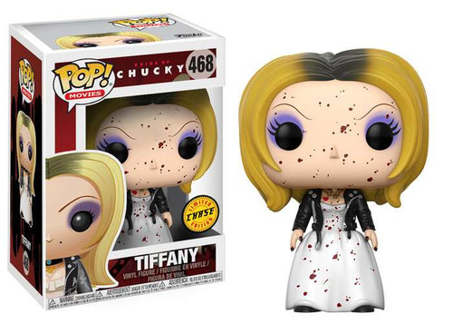 Funko Bride of Chucky POP! Movies Tiffany Vinyl Figure #468 [Blood Splattered Chase Version]