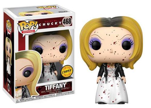 Funko Bride of Chucky POP! Movies Tiffany Vinyl Figure #468 [Blood Splattered, Chase Version]