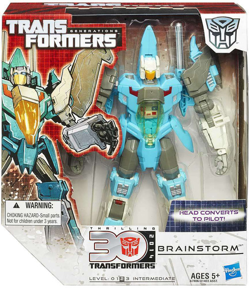 Transformers Generations 30th Anniversary Brainstorm Voyager Action Figure [Damaged Package]
