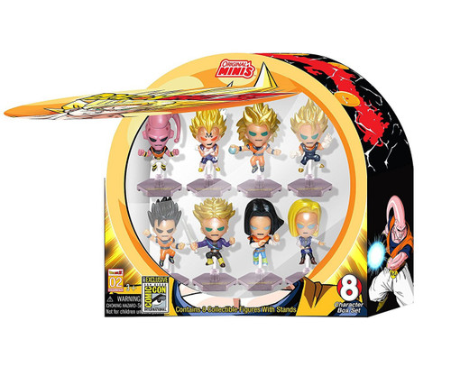 Domez Series 2 Dragon Ball Z Exclusive Figure 8-Pack