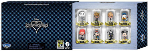 Disney Domez Kingdom Hearts Exclusive Figure 8-Pack