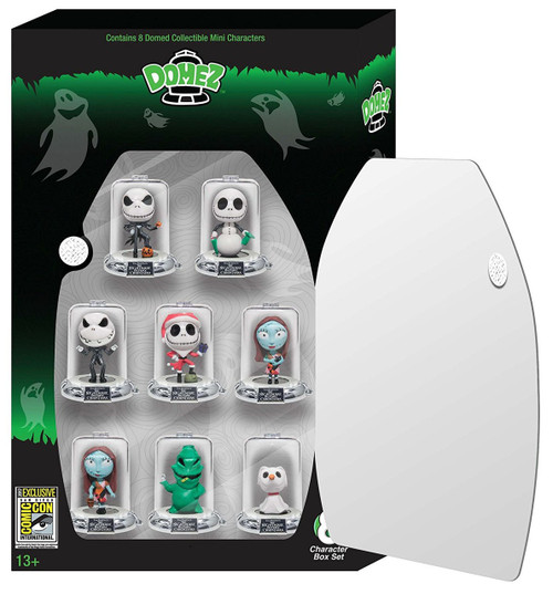 Disney Domez Nightmare Before Christmas Exclusive Figure 8-Pack