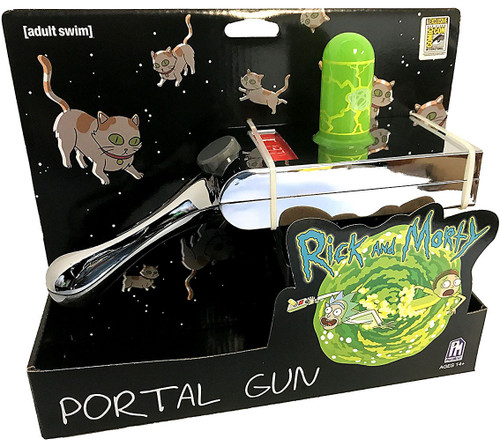 Rick & Morty Portal Gun Exclusive Toy