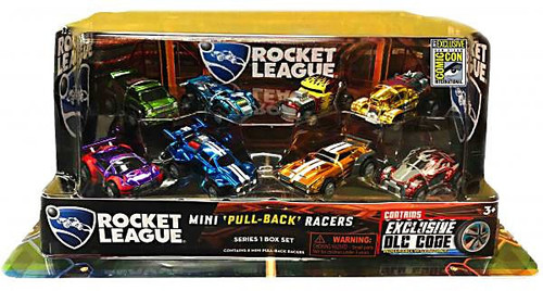 Rocket League Exclusive Pull Back Racers 8-Pack [SDCC EXCLUSIVE DLC CODE]