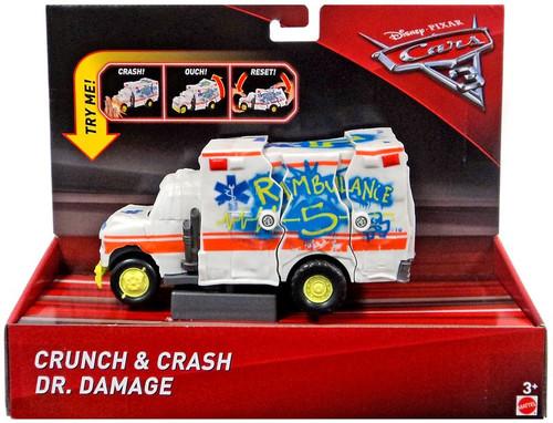 Disney / Pixar Cars Cars 3 Crunch & Crash Dr. Damage Vehicle