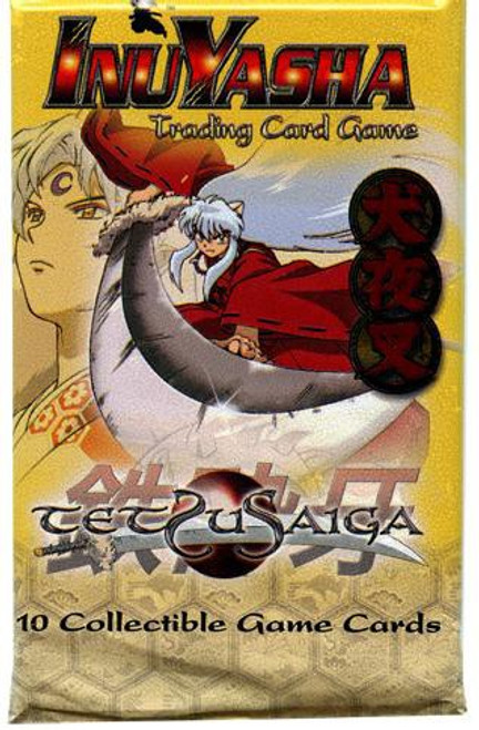 InuYasha Trading Card Game Tetsusaiga Booster Pack [10 Cards]