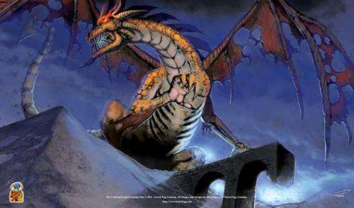 Card Supplies Undead Dragon Play Mat
