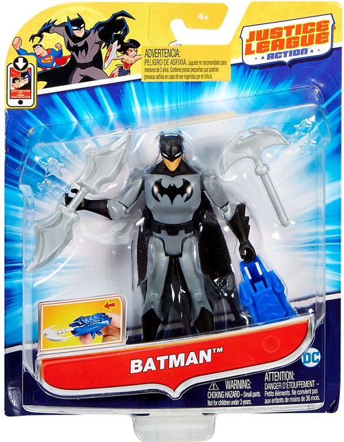"Justice League Action JLA Power Connects Batman Action Figure [4.5""]"