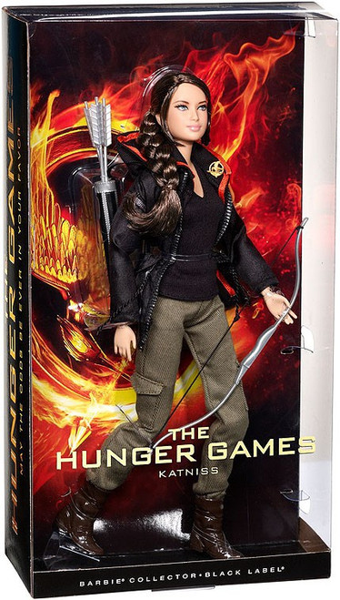 The Hunger Games Barbie Katniss Everdeen Doll