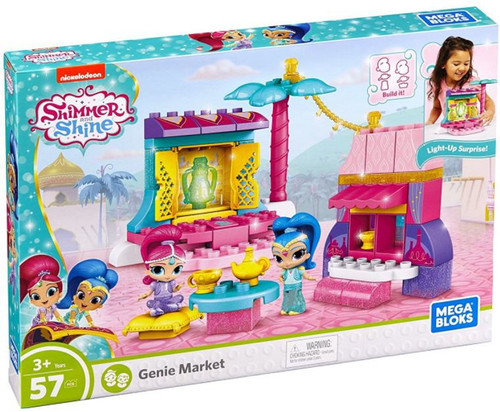 Mega Bloks Shimmer & Shine Genie Market Playset [Azar Bazaar]