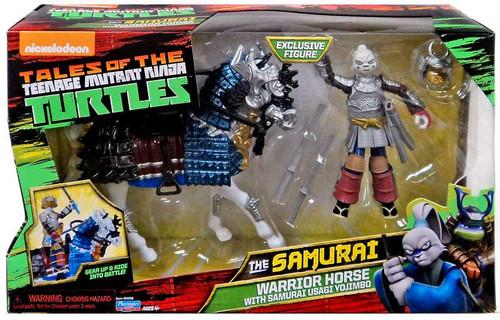 Teenage Mutant Ninja Turtles Tales of the TMNT The Samurai Warrior Horse with Samurai Usagi Yojimbo Action Figure