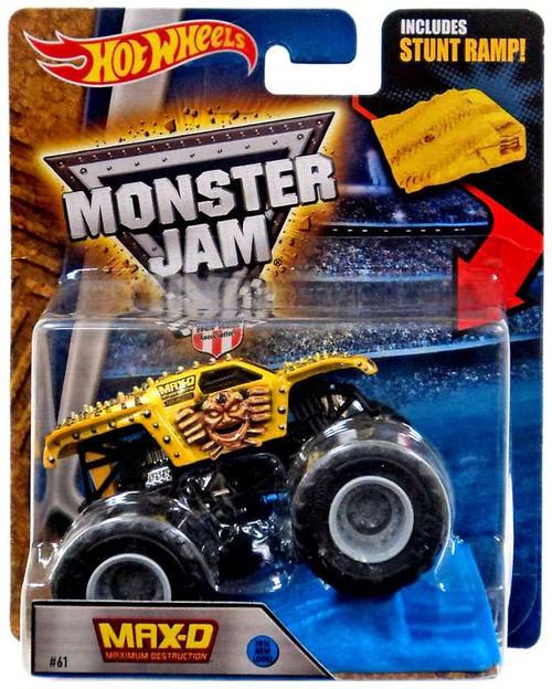Hot Wheels Monster Jam 25 Max-d Die-Cast Car [Stunt Ramp]