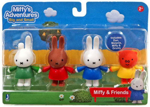Miffy's Adventures Big & Small Miffy & Friends Exclusive Figure 4-Pack