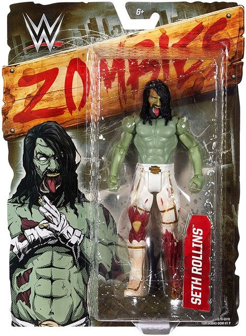 WWE Wrestling Zombies Seth Rollins Action Figure