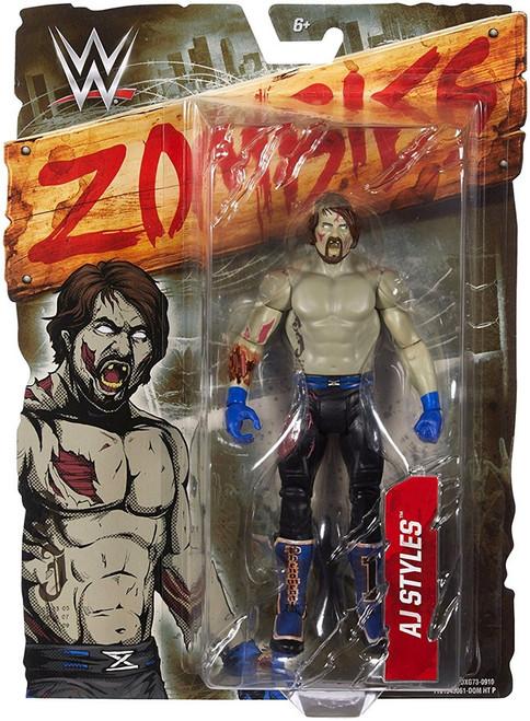 WWE Wrestling Zombies AJ Styles Action Figure