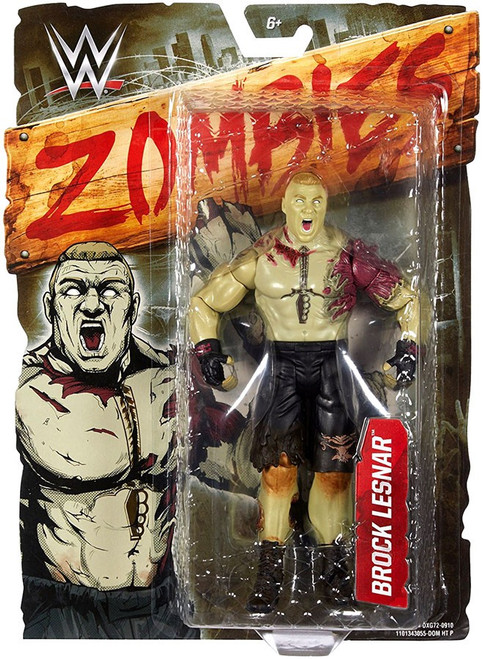 WWE Wrestling Zombies Brock Lesnar Action Figure